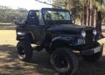Jeep CJ-5 - 1967 - Preto