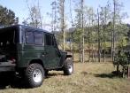 Toyota  Band Jipe Capota de A�o 4x4 Verde Militar
