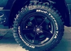 Pneus BF Goodrich Mud 235/70 R16  e Rodas Civic
