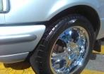 Roda aro 20 com pneu 285
