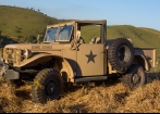 PICK UP MILITAR  DODGE M 37 1951- RESTAURADA
