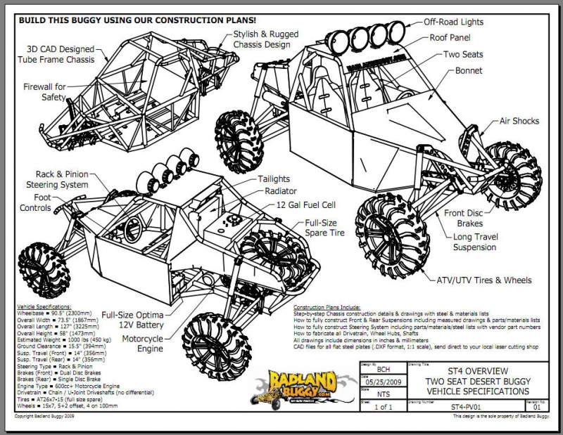 buggy plans free - My Blog About May2018 Calendar - dune buggy plans ...