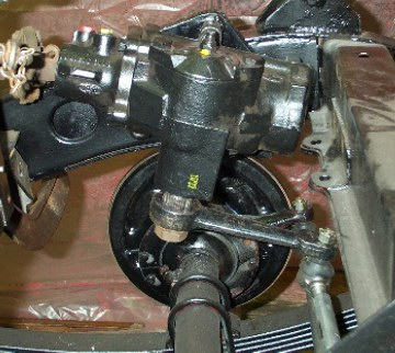 N Steering Box Rebuild 8n Ford Tractor Steering Box
