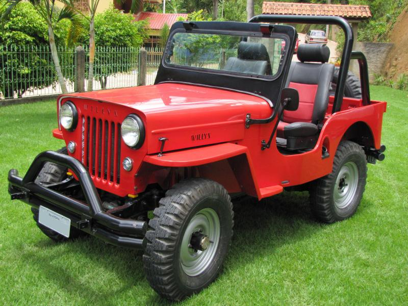 Jeep Willys 1954 >> Jeep 1954 ou 1958, como identificar??