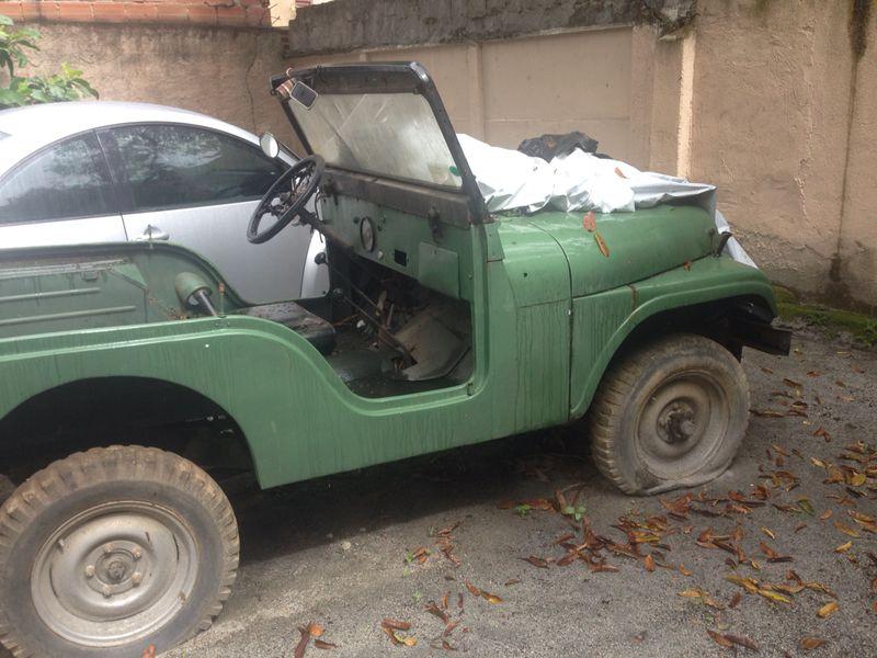 Jeep willys cj5 1960 - reforma