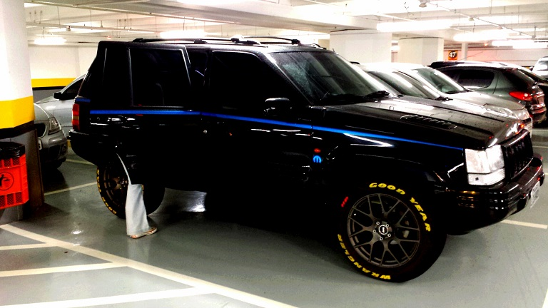 D Preparacao Grand Cherokee Limited Lx Rj Black Porcento