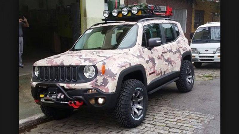 Jeep Renegade Interior >> Jeep Renegade com Pneus BFGoodrich - Página 12