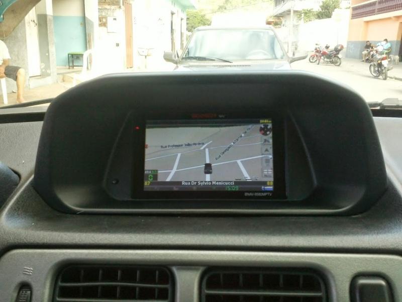 Pajero TR4 / GPS no lugar do relógio - Página 17