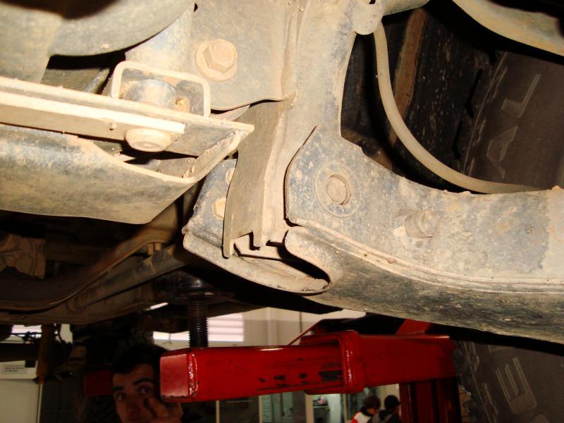 Nissan Frontier Diesel >> Quebra da barra de torção X-terra