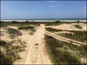 El tour del Uruguay - saindo de Curitiba-areia.jpg