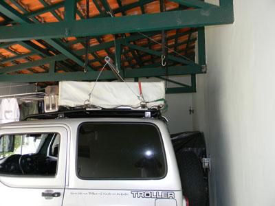 Teto para garagem