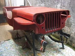2013 Jeep Wrangler Sport >> Carroceria de fibra Jeep mod 51
