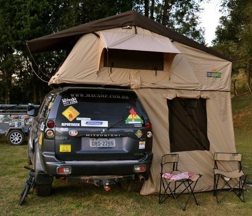 Vendo Barracas de Teto Automotiva Blue Camping com Luz de LED