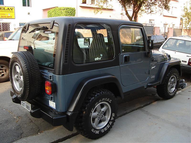 Jeep Wrangler 98 98 Otimo Estado