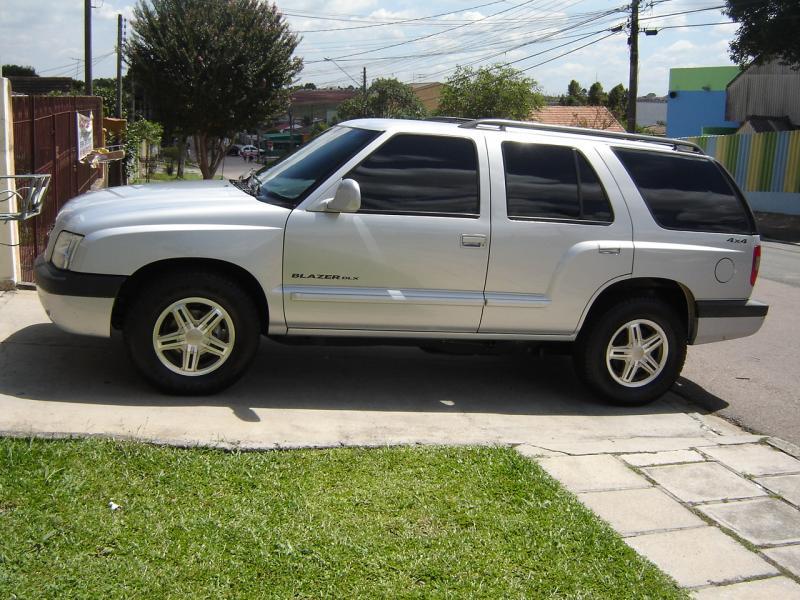 Vendo Blazer 4X4 DLX 2.8Turbo Diesel 2003 opcionais da ...