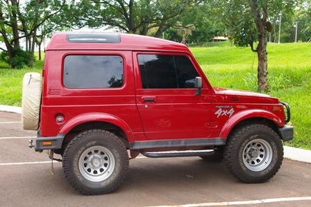 Suzuki Samurai 1 3 Jx Metal Teto Alto 4x4 Gasolina 2p