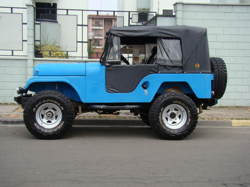 Vendo Jeep Willys 1963