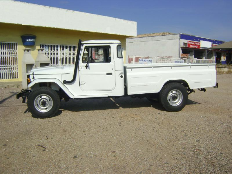 Toyota Bandeirante 97 Pick Up Longa Original