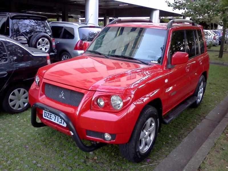 Vendo Pajero Tr4 4x4 Manual 2007 2008 Vermelha