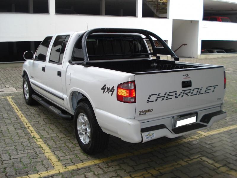 S-10 cabine dupla 2.5 turbo diesel 4X4