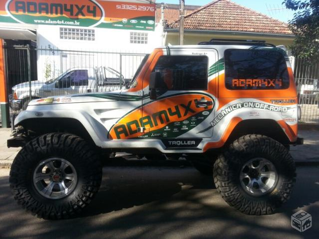 Jeep Cherokee Off Road >> Vendo troller 3.0 PNEUS 40'