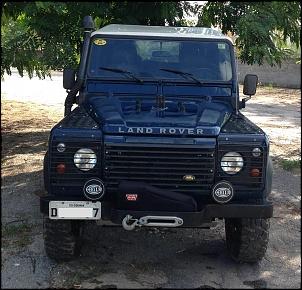 Land Rover Defender 110 SW 2000/2000 Azul com Teto Branco-img_0697.jpg
