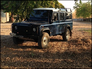 Land Rover Defender 110 SW 2000/2000 Azul com Teto Branco-img_0064.jpg