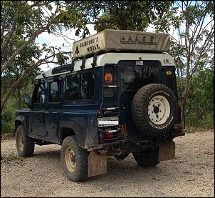 Land Rover Defender 110 SW 2000/2000 Azul com Teto Branco-img_1220.jpg