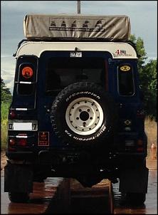 Land Rover Defender 110 SW 2000/2000 Azul com Teto Branco-img_1180.jpg