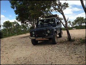 Land Rover Defender 110 SW 2000/2000 Azul com Teto Branco-img_1222.jpg