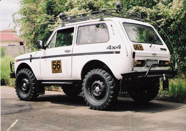 Lada Niva 4x4 91 92 1 6 Orig Veiculo Em 243 Timo Estado