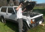 Jeep Cherokee XJ turbo diesel 2 portas - Pecas/ Nao pode Rodar - 1993