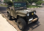 Jeep Willys Overland 1952 Militarizado