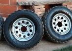 Roda Suzuki Samurai (Original) + pneus