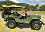 Jeep Willys CJ3B 1954 - Placa Preta