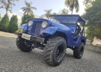 Vendo Jeep Willys Overland 62/62 Azul c/ Turbo