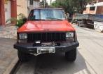 Jeep Cherokee Laranja 1991 - modelo raro