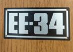 plaqueta engesa EE-34
