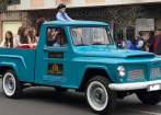 FORD F75 Willys 1974 4X4