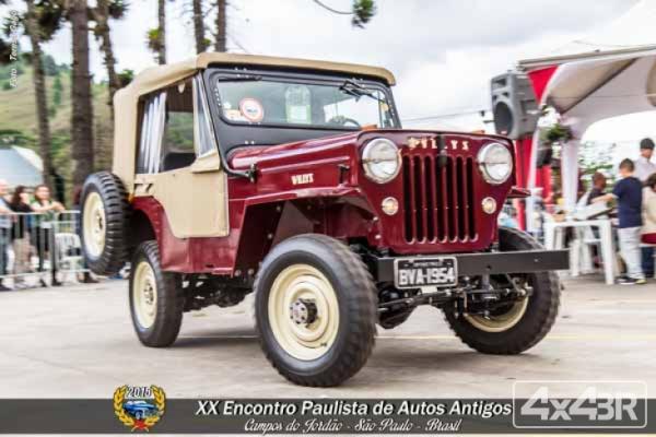 Jeep CJ3B 1954