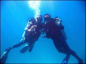 Diving - Pose pra foto