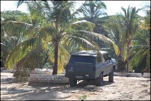 tirando uma sombra na praia do gunga alagoas 2007