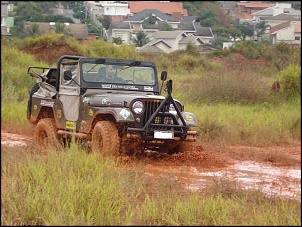 Estréia do Jeep no barro (comigo eh claro!)