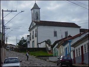 Igreja de Nossa Senhora da Luz - Diamantina. É uma subida e tanto para chegar até lá...