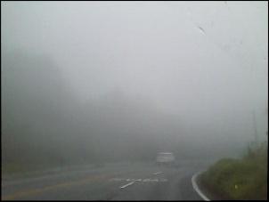 Neblina na serra