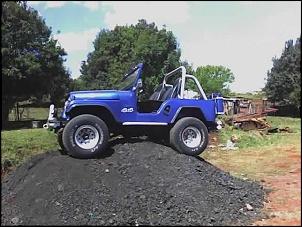 Jeep CJ5 1966 Burro Azul