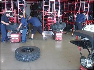 Troca dos sensores de pressão do pneu