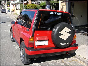 Suzuki Vitara JLXi 93 Vermelho