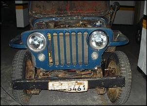 Fotos da restauração de mais um CJ3A - 1951 ... rumo à placa preta ...