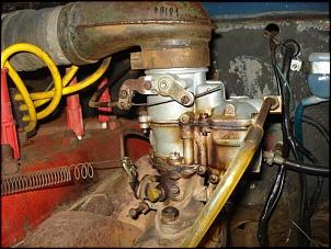 Detalhe do carburador ...   vo te que ir atrás dum original ....